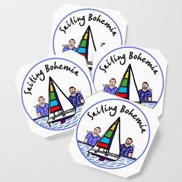 Beard Boy: Sailing Bohemia Coaster