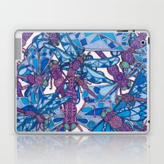 Dragonfly Disco (purple) Laptop & iPad Skin