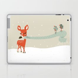 Winter Deer Laptop & iPad Skin