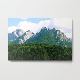 Italian Alps Metal Print