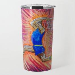 Powerful Slam Dunk  Travel Mug