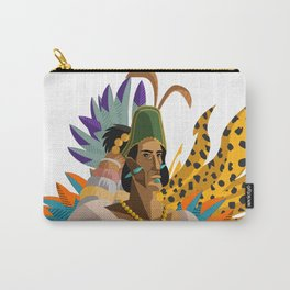great aztec emperor Carry-All Pouch