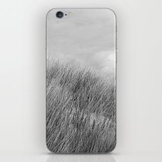Beach grass - black and white iPhone & iPod Skin