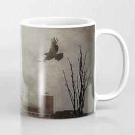 Rustic Teal Barn Country Art A158 Coffee Mug