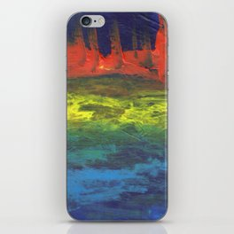 Stormy Sea Abstract iPhone Skin
