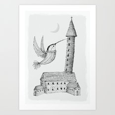 'Tower' Art Print