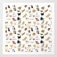 adopt a dog Art Print