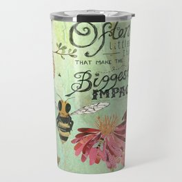 Honeybees May Be Little Travel Mug