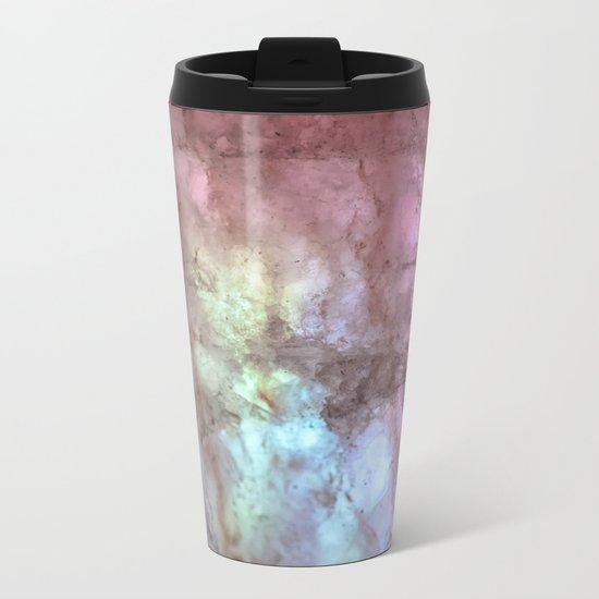 Lights & Minerals Metal Travel Mug