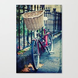 City bike Canvas Print