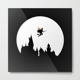 Legend Of The Witch Metal Print