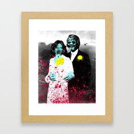 Spooky Prom 4 Framed Art Print