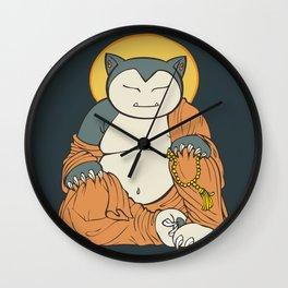 Hotei Snorlax Wall Clock