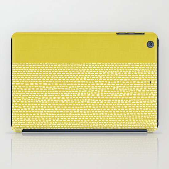 Riverside(Yellow) iPad Case