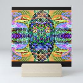 Snek charmer Mini Art Print