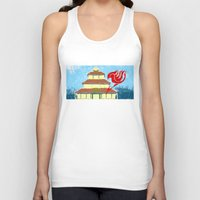 fairy tail Tank Tops featuring Fairy Tail Segmented by JoshBeck