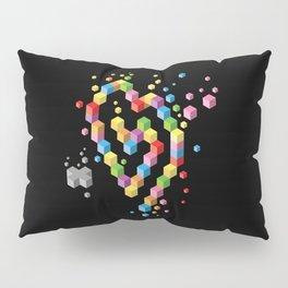 Geek Heart Pillow Sham