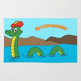 Nesie (Loch Ness Monster) Rug
