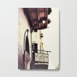 Absinthe House Metal Print