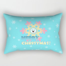 Fun snowflake 2 Rectangular Pillow