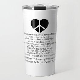 A New Pledge Travel Mug