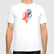Held in Place Mens Fitted Tee White MEDIUM