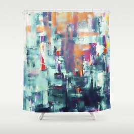 Energy No. 1 Shower Curtain