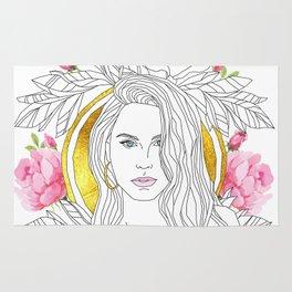 Queen of Roses Rug