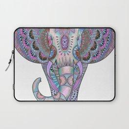 Mandala elephant indigo Laptop Sleeve
