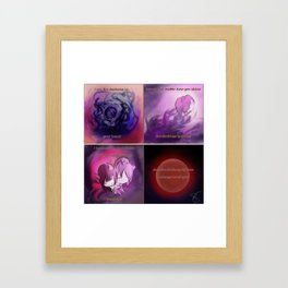 A Love Poem Framed Art Print