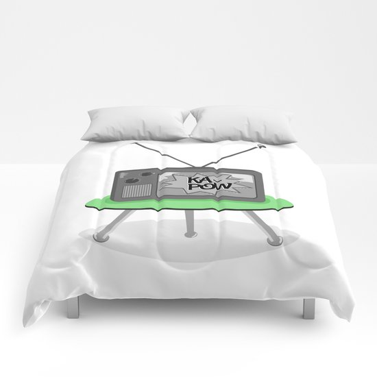 Kapow TV Comforters