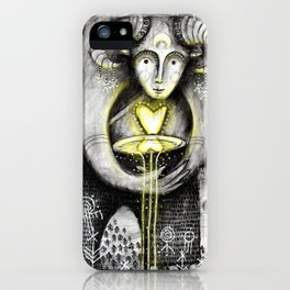 Return Of The Light iPhone Case