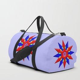 Shuriken Lotus Flower Duffle Bag