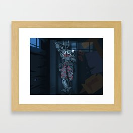 Sleeping Knight2 Framed Art Print