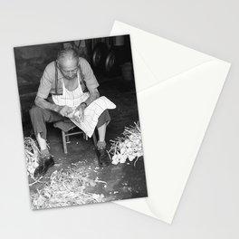 Garlic man Stationery Cards