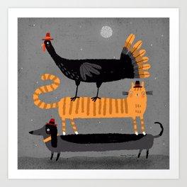 TOP TURKEY Art Print