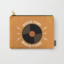 Good Vibes and Warm Tones Carry-All Pouch