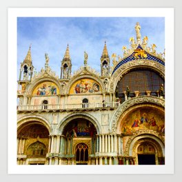 Basilica di San Marco Art Print