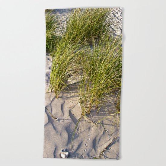 Sand Dune of Denmark Beach Towel