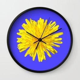 YELLOW POWER Wall Clock