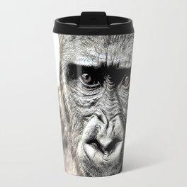 Gorilla Sketch Travel Mug