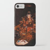 whiskey iPhone & iPod Cases featuring Whiskey by Esra Meral Demircan