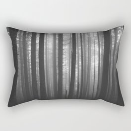 Into the Mist - BW Rectangular Pillow