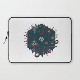 Die of Death Laptop Sleeve
