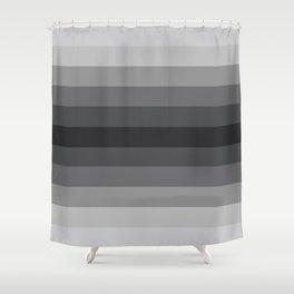 Grey Gradient Shower Curtain