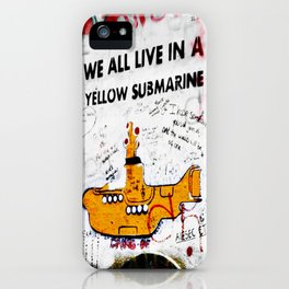 YELLOW SUBMARINE iPhone Case