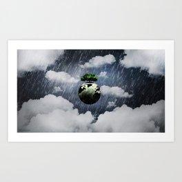 Toon Storm Art Print