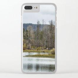 Snake River near Cattleman's Bridge Site -  Grand Tetons Clear iPhone Case