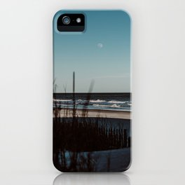 Lonely Moon iPhone Case