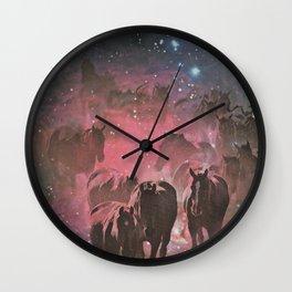 Wild Stars Wall Clock